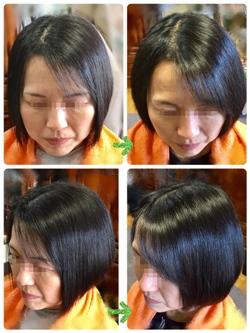 G-UP環(たまき)ストレートは髪年齢を感じ始めた大人女性も大満足のアンチエイジングストレートです。ツンと突っ張ったようなストレートではなく、根元にボリュームを持たせて毛先は軽く内巻きになるような自然なストレートヘアーを作ることが可能です。